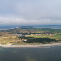 Thumbnail ameland aerial view from the west