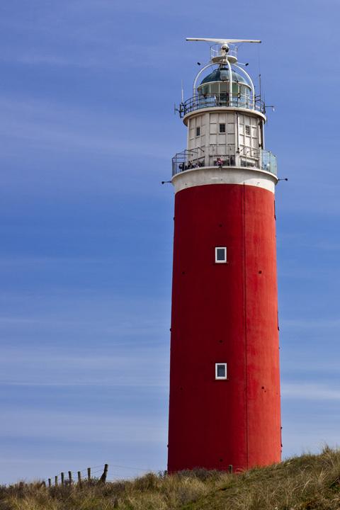 Normal eierland lighthouse texel