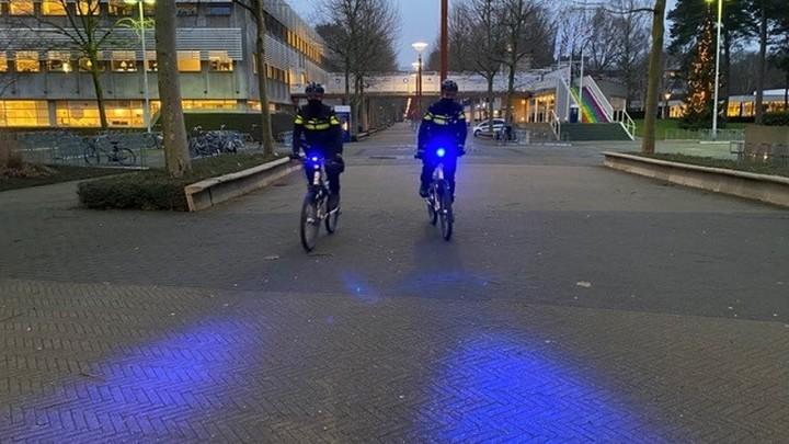 Normal bikes blauwe verlichting
