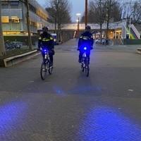 Thumbnail bikes blauwe verlichting