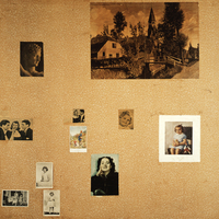 Thumbnail 9415 wand a deel van plaatjeswand anne franks kamertje  collectie anne frank stichting