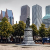 Thumbnail 1200px cityscape of the hague  viewed from het plein  the square