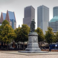 Thumbnail 1920px cityscape of the hague  viewed from het plein  the square