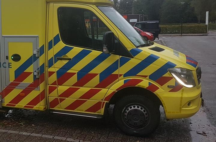 Normal dutch ambulance